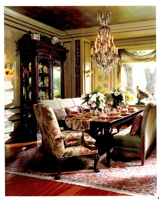 Victorian Dining Traditional Dining Room minneapolis