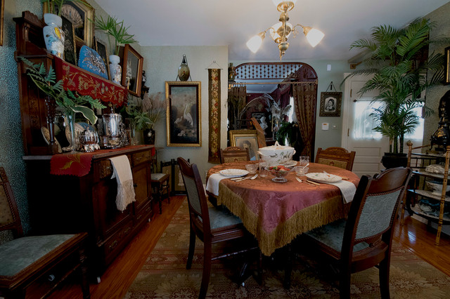 Victorian dining room traditional dining room for Dining room design questions