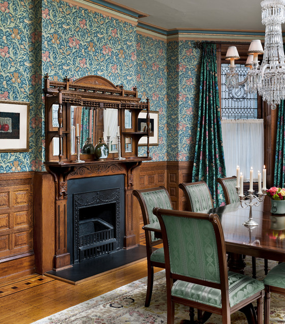 Victorian Era Dining Room: Victorian Heirloom