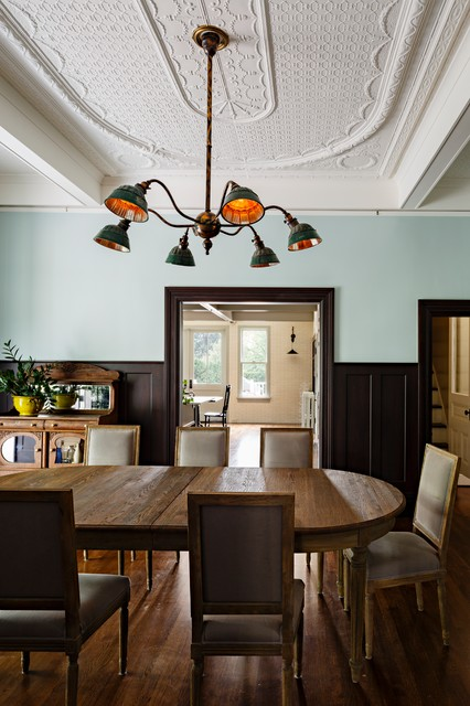 Victorian Kitchen Traditional Dining Room portland