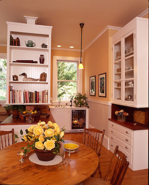 Victorian Kitchen remodel Traditional Dining Room