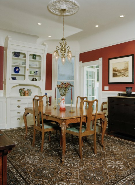 Victorian Remodel Traditional Dining Room san