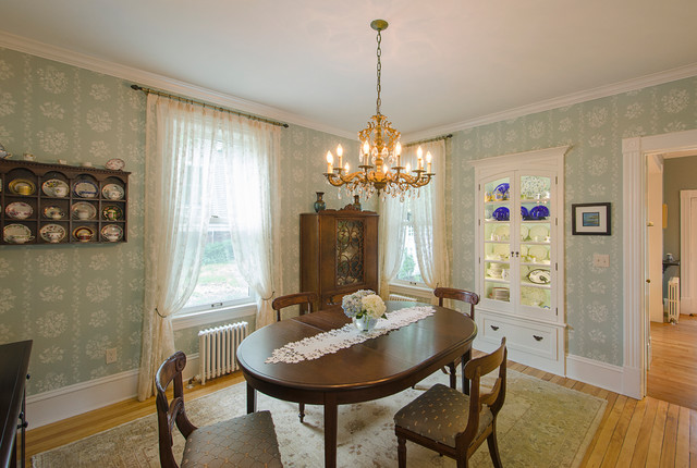 Victorian renovation Traditional Dining Room other