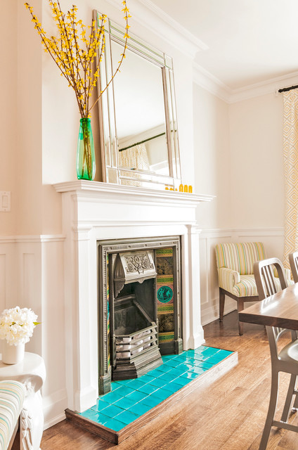 Victorian revival transitional dining room toronto for Dining room 56 willoughby street