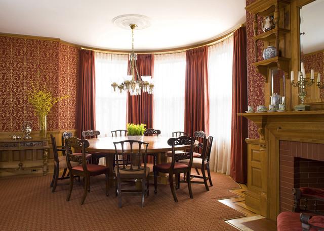 Victorian Splendor Traditional Dining Room Boston