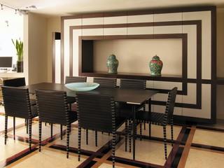 Villa in bergamo moderno sala da pranzo roma di studio tartaglia - Stanza da pranzo moderna ...