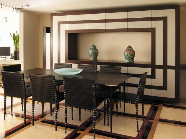 Villa in bergamo moderno sala da pranzo roma di for Sala pranzo moderna