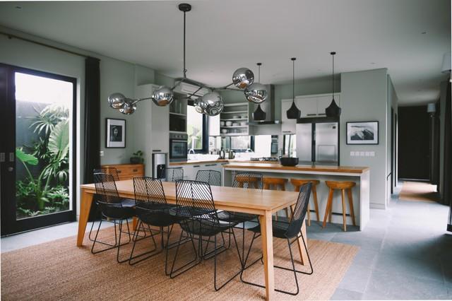 Villa Ixora contemporary-dining-room