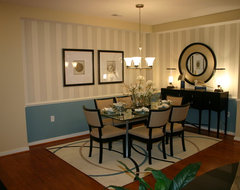 Villages at Sheltered Harbor Model Condo traditional dining room