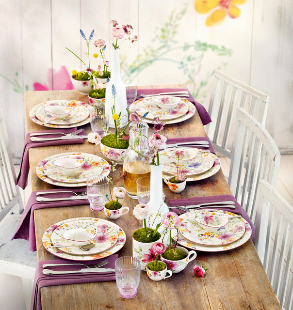 Villeroy & Boch Mariefleur Dinnerware - Contemporary - Dining Room - new york - by Villeroy & Boch