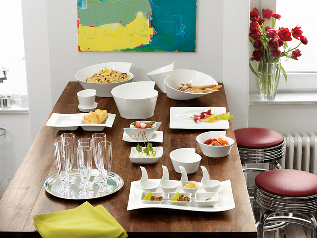Wave Villeroy Und Boch villeroy boch wave dinnerware contemporary dining room