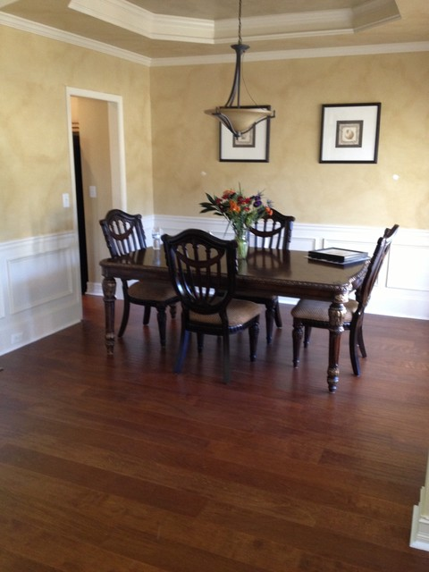 Vintage Couture Lapacho traditional-dining-room