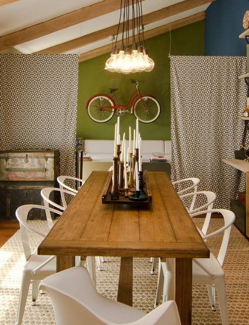 Vintage Inspired Dining Room Eclectic