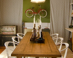 Vintage Inspired Dining Room eclectic dining room