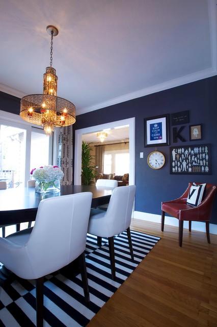 Vintage Modern Living - Traditional - Dining Room ...