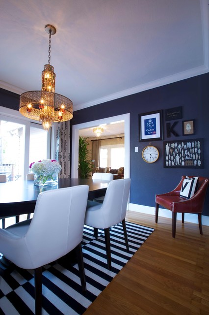 Vintage Modern Living traditional-dining-room