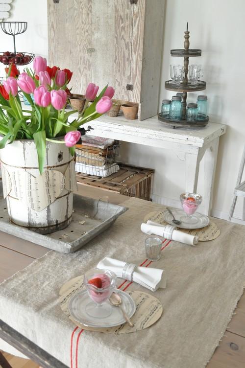 Vintage Table Setting