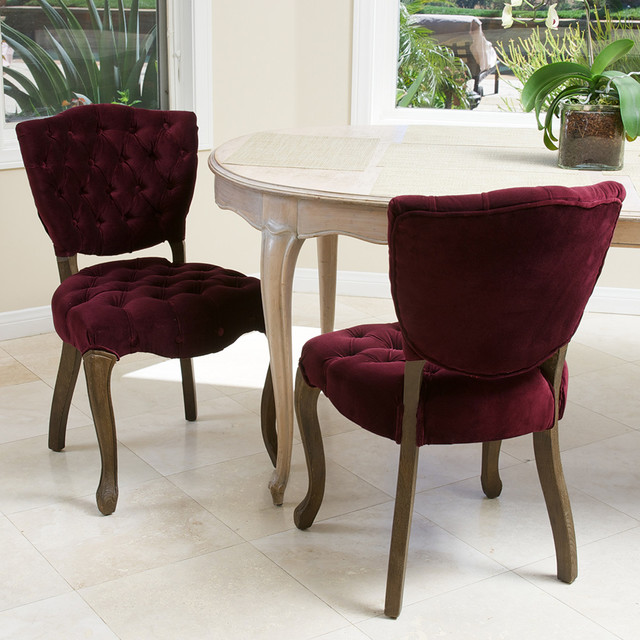 Violetta French Design Dining Chair (set Of 2) Modern Dining Room