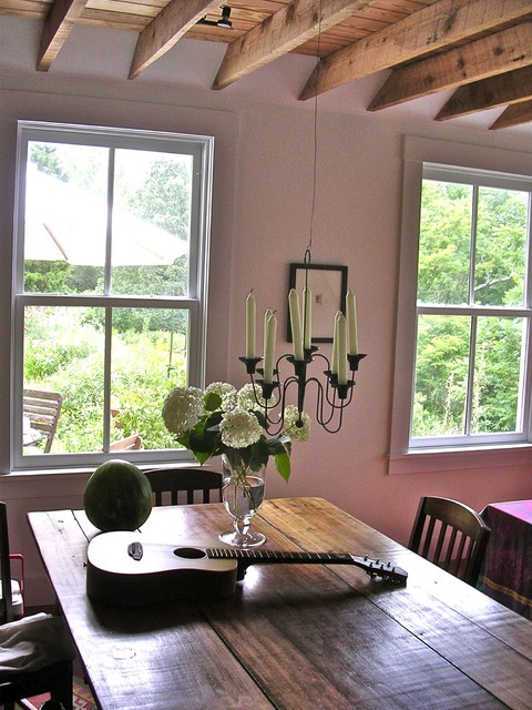 Virginia Countryside Cottage Farmhouse Dining Room