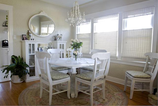 vista del oro beach style dining room los angeles by mw