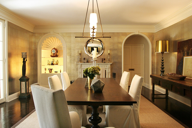 Vogue Living contemporary dining room