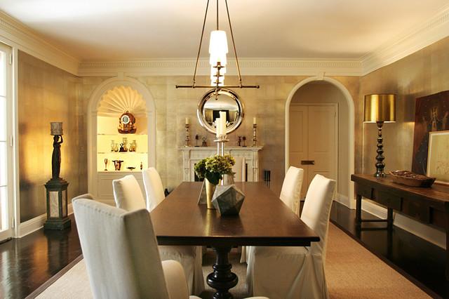 Vogue Living contemporary-dining-room