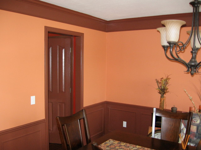 Wainscoting and judges paneling for Dining room paneling