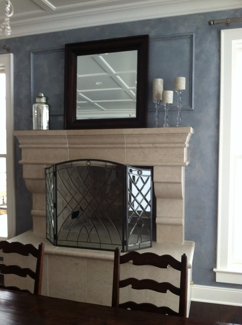 Wall Finishes traditional-dining-room
