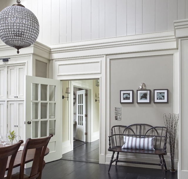 Wall morris design new england style house kerry New england home interiors