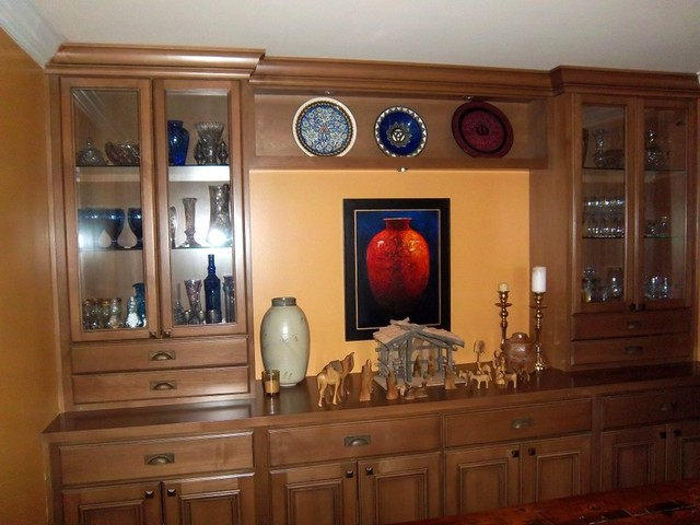 Wall Units For Dining Room Brilliant Wall Units  Traditional  Dining Room  Santa Barbara Closet Decorating Inspiration