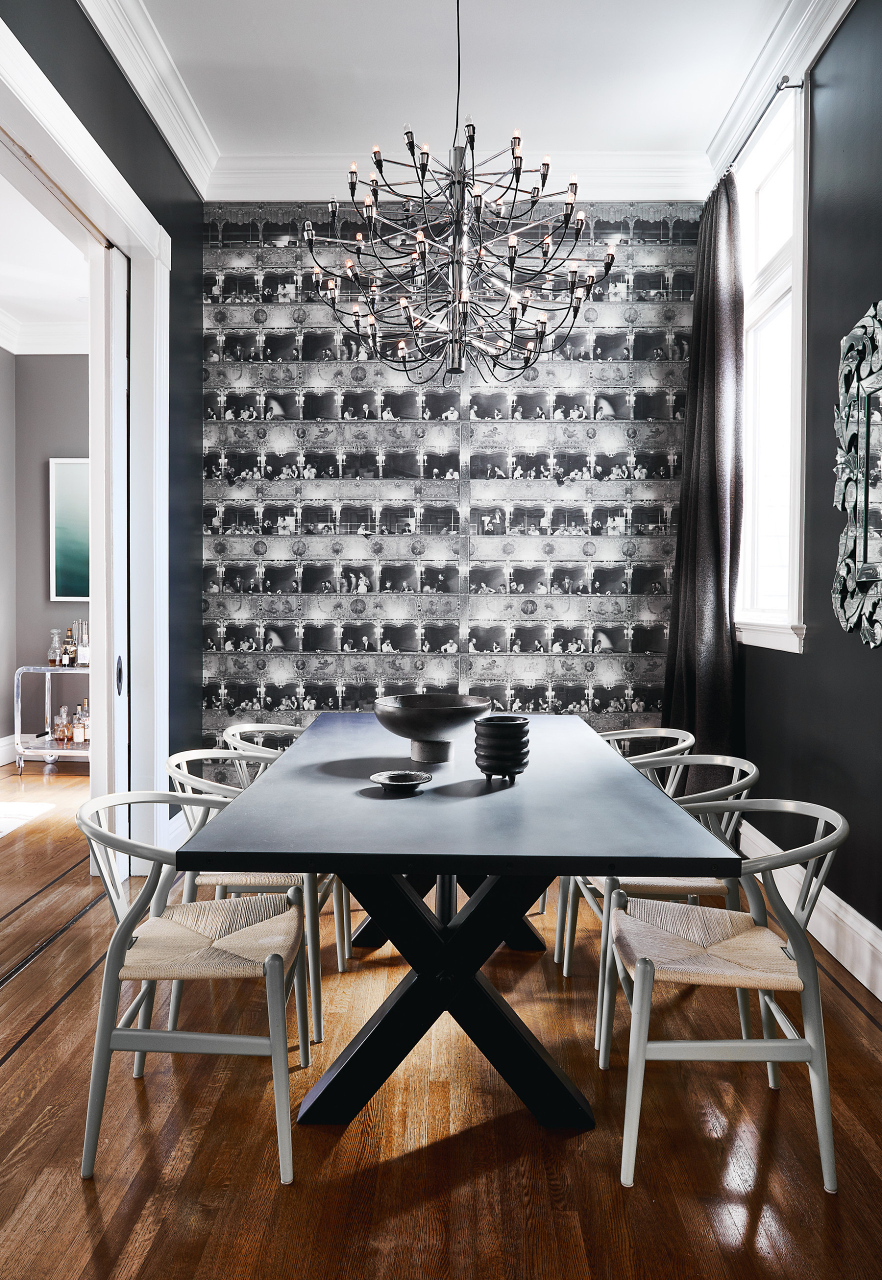 18 Beautiful Wallpaper Dining Room Pictures Ideas October 2020 Houzz