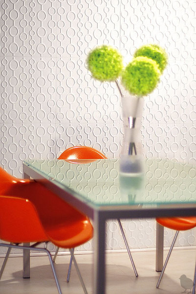 Wallpapers modern dining room