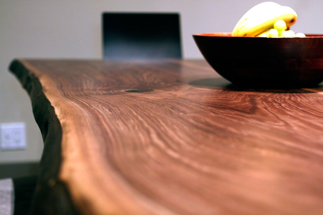 WALNUT LIVE EDGE TABLE / COUNTERTOPS / COFFEE TABLES dining-tables