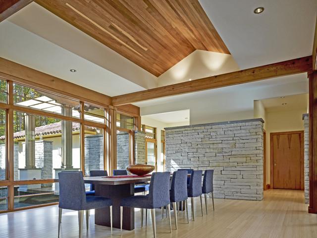 Walnut Ridge Dining Room eclectic-dining-room