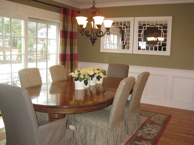 Walpole Custom Home traditional dining room