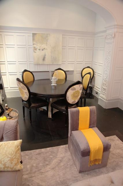 walton street contemporary-dining-room