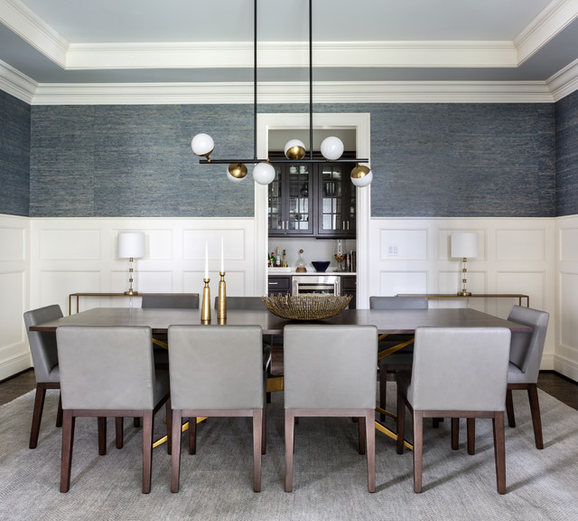 Transitional Dining Room Sets: Warm And Modern Dining Room