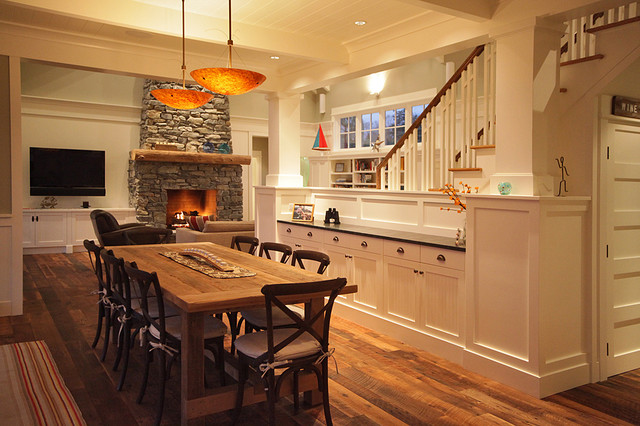 Rustic Dining Room By Warmington North