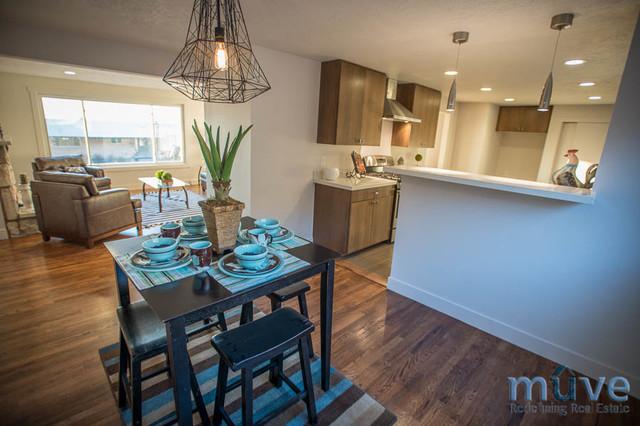 Warr Rd. midcentury-dining-room