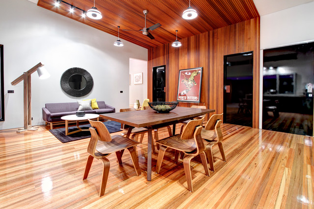 Warragul Pool House by Design Unity Contemporary  : contemporary dining room from www.houzz.com size 640 x 426 jpeg 120kB