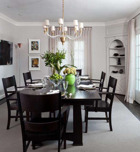 Washington dc transitional private residence traditional for Best private dining rooms washington dc