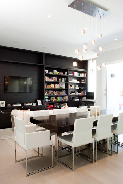 Washington Street House contemporary-dining-room