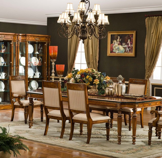 Waterford Dining Set Traditional Dining Room Other Metro By Savannah