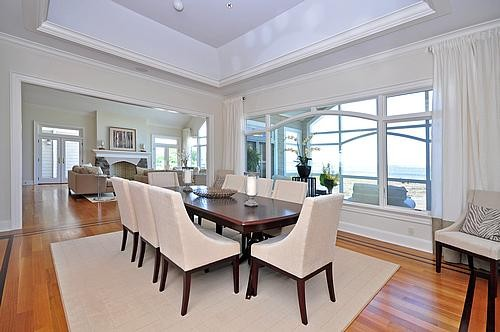 Waterfront Property, Sands Point, N.Y. traditional-dining-room