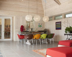Watermill Residence Interiors contemporary-dining-room
