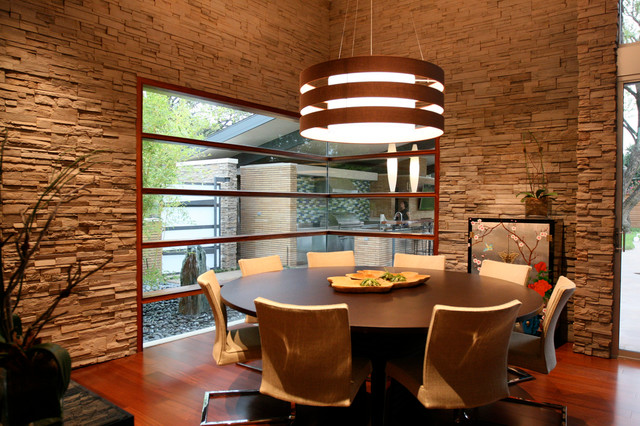 Watson Circle Residence contemporary-dining-room