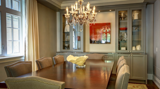 Exceptional Wembley Ave. Traditional Dining Room