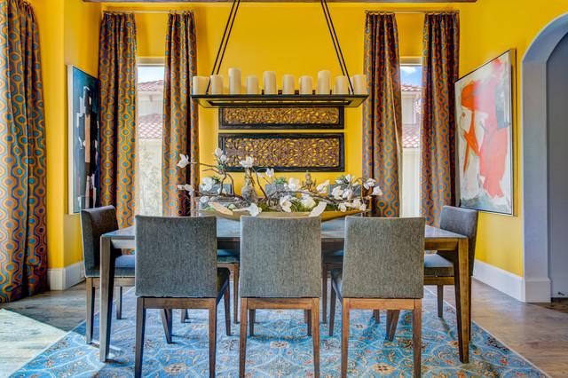 Wesley Wayne Interiors Dining Rooms Transitional Room Dallas