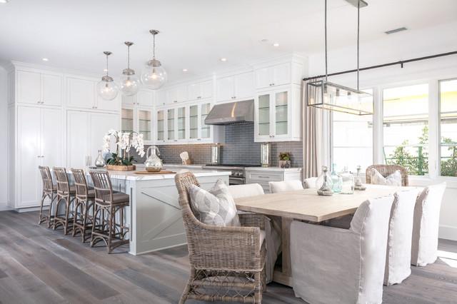 bay beach style dining room orange county by blackband design