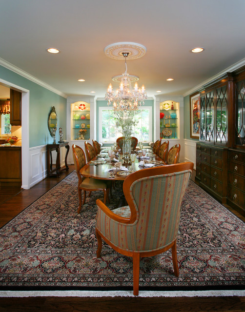 West Bloomfield Project - Traditional traditional-dining-room